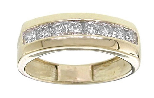 Diamond Band 0.80 CTW 14K YG