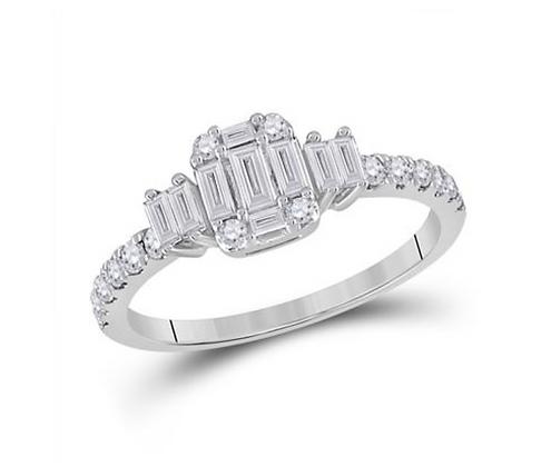 0.65 CTW Diamond Ring