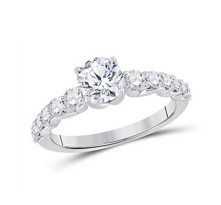 1.40 CTW Certified Diamond Ring