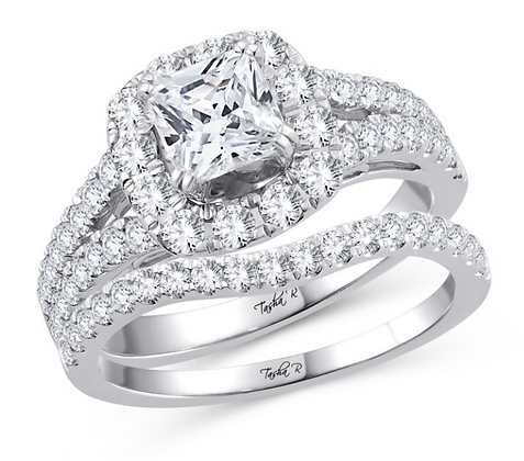 1.25 CTW (0.33 CTR) Diamond Tasha R Bridal Set