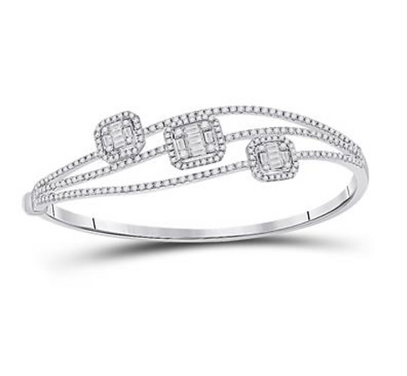 1.75 CTW Diamond Bangle Bracelet