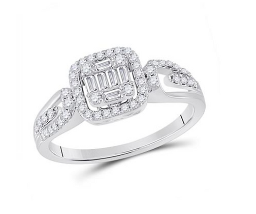 0.40 CTW Diamond Ring