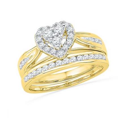 0.50 CTW Diamond Bridal Set