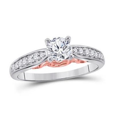 0.65 CTW Certified Diamond Ring