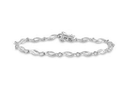 0.25 CTW Diamond Bracelet