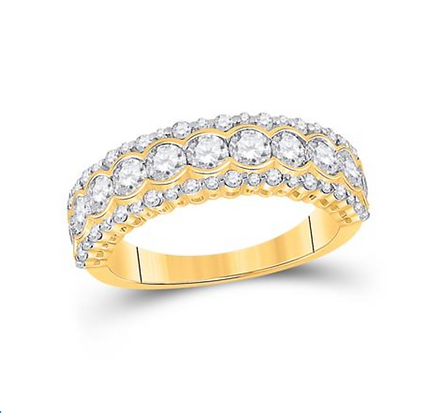1.50 CTW Diamond Band