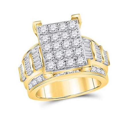 4.00 CTW Diamond Ring
