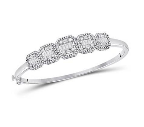 1.65 CTW Diamond Bangle Bracelet