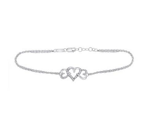 0.10 CTW Diamond Bracelet