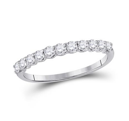 0.50 CTW Diamond Prong Band