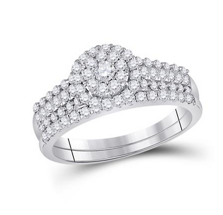 0.75 CTW Diamond Bridal Set