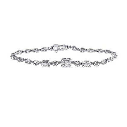 0.75 CTW Diamond Bracelet