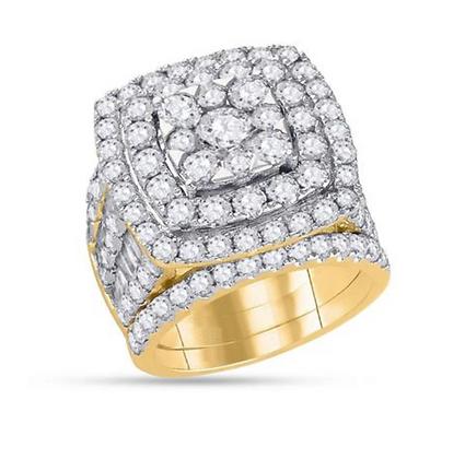 6.00 CTW Diamond Bridal Set