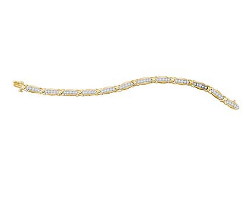 2.00 CTW Diamond Bracelet
