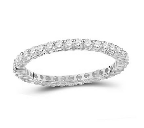 0.50 CTW Diamond Eternity Band