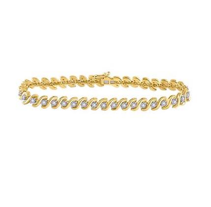 0.50 CTW Diamond Bracelet