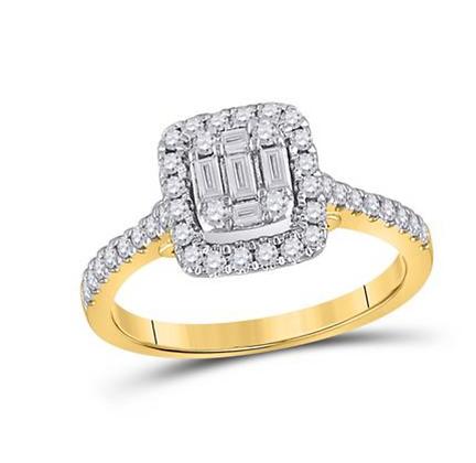 0.50 CTW Diamond Ring