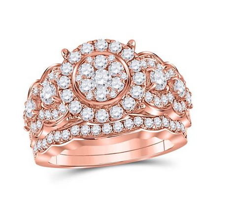 2.00 CTW Diamond Bridal Set
