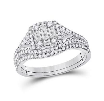0.65 CTW Diamond Bridal Set