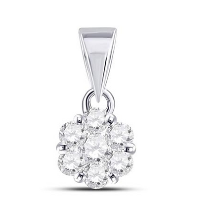 1.50 CTW Diamond Composite Pendant