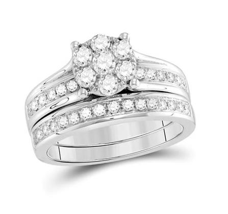 1.50 CTW Diamond Bridal Set
