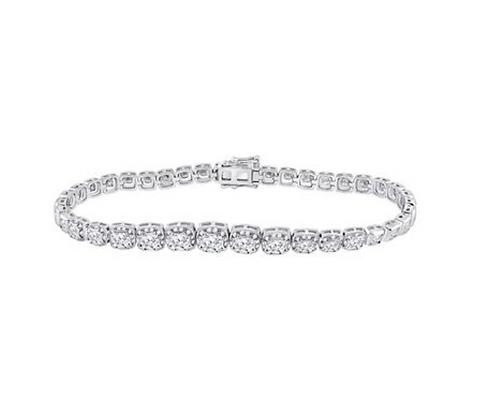 3.75 CTW Diamond Bracelet