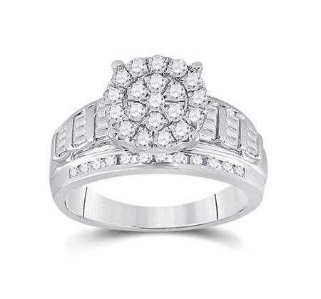 0.85 CTW Diamond Ring