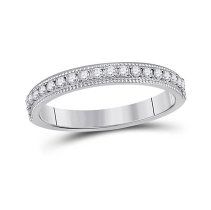 0.25 CTW Diamond Channel Band
