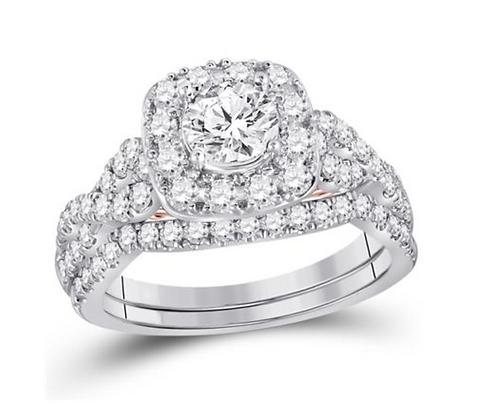 1.75 CTW Certified Diamond Bridal Set