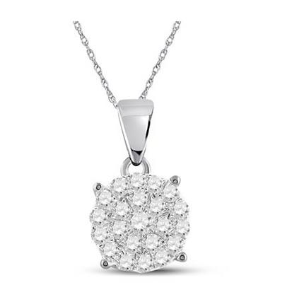 0.75 CTW Diamond Pendant