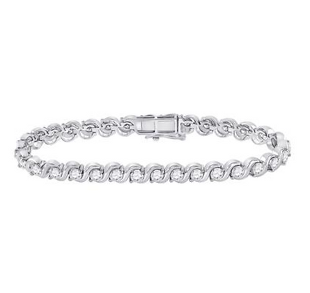 4.00 CTW Diamond Bracelet