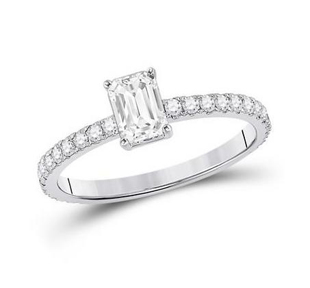 1.00 CTW Certified Diamond Ring