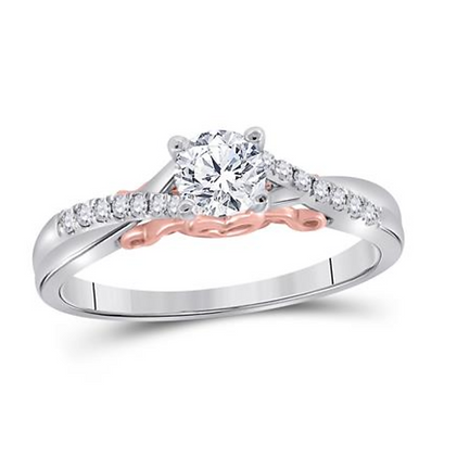 0.50 CTW Certified Diamond Ring