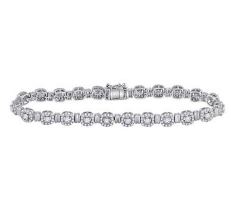 2.20 CTW Diamond Bracelet