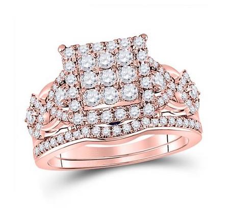 1.25 CTW Diamond Bridal Set