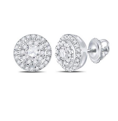 0.50 CTW Diamond Composite Stud Earrings