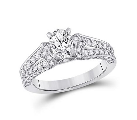 1.50 CTW Certified Diamond Ring