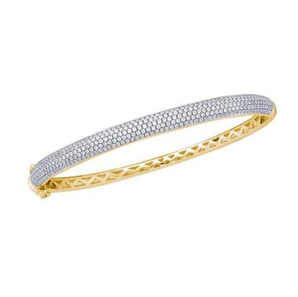 2.00 CTW Diamond Bangle Bracelet