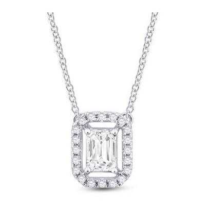 0.65 CTW Diamond Solitaire Necklace