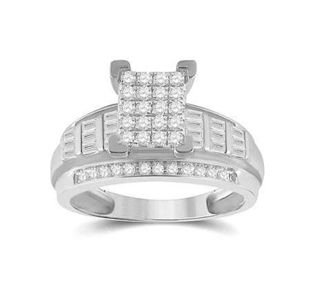 0.85 CTW Diamond Ring