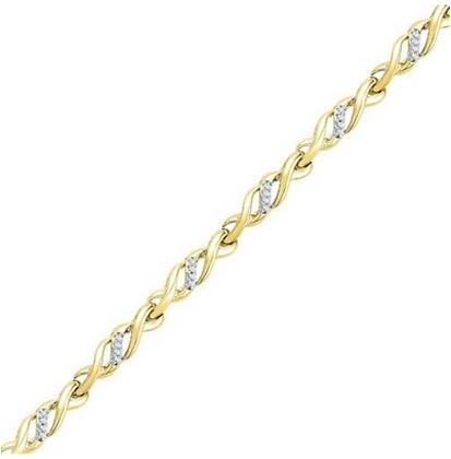 0.20 CTW Diamond Bracelet