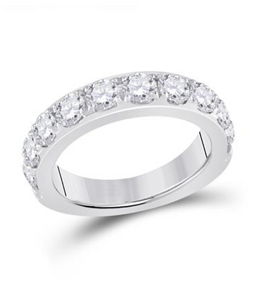 2.00 CTW Diamond Prong & Channel Band