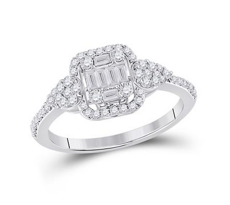 0.65 CTW Diamond Ring