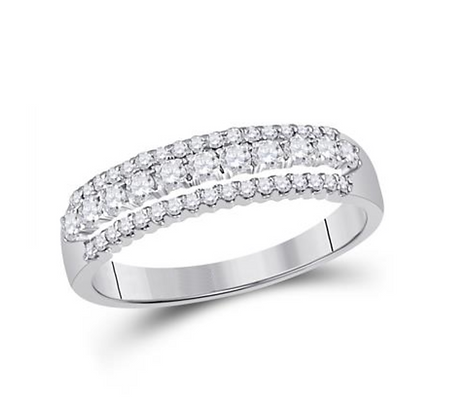 0.50 CTW Diamond Anniversary Band