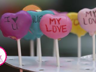 Love Letter Cake Pops
