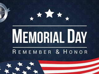 Memorial Day Weekend at Avalon Dental Center!
