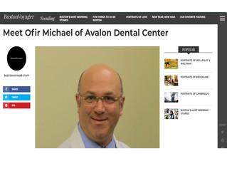 Article about Dr Michael Ofir in Boston Voyager Magazine
