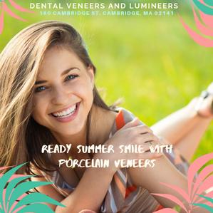 Summer Smile with Porcelain Veneers