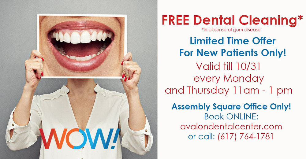 free dental cleaning