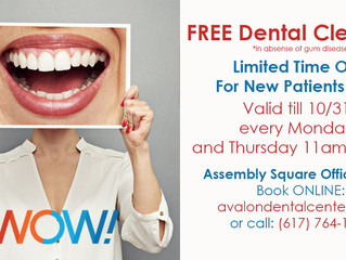 FREE Dental Cleaning - Limited Time Offer